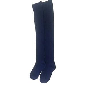 Women Girl Over Knee High Socks Spring Autumn Winter Warm Knit High Long Socks