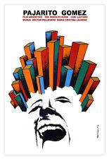 Decor Graphic Design movie Poster for film Pajarito GOMEZ.Argentina.Cerebral art