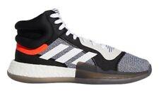 adidas Men's Marquee Boost High-Top Basketball Shoes BB7822 - White/Black/Aero
