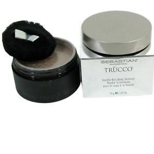 Sebastian Trucco Vanilla Kiss Body Shimmer .35 oz Loose Powder Sparkle Shine