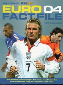 2004 Euro 2004 Finals Official ITV Sport Tournament Fact File Football Programme