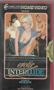 EROTIC INTERLUDE NO 422 . VINTAGE TAPE ( NOT VHS ) VIDEO TAPE BETAMAX RATED R