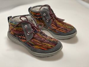Merrell Pechora Womens Size 6.5  Mid Boots FAUX FUR LINED Grey/Multi