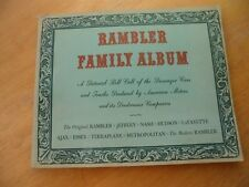 Rambler Family Album (1963) a pictorial roll call of passenger cars by American