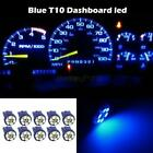 10 Bright Blue 12V LED 168 194 T10 Wedge 6SMD Instrument Panel Bulb For Toyota