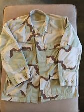 US MILITARY ARMY CAMO CAMOUFLAGE JACKET USED Size Medium Short