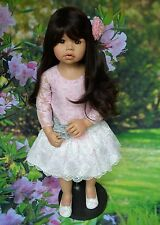 Masterpiece Dolls Cassi Dark Brown Hair, Blue Eyes, Monka Levenig, 34""