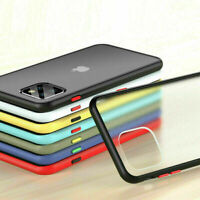 Clear Shockproof Case Cover Hard For iPhone 6 7 8 Plus / X XR XS Max 11 Pro Max