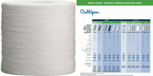 Culligan 2PK Spun Poly Cartridge P1 Whole House Premium Water 2 Pack, White