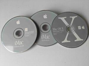 CD iMac Sotware. Three CDs. Came with G3 iMac. 2002