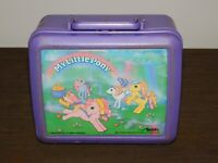 VINTAGE 1990 ALADDIN HASBRO MY LITTLE PONY PLASTIC LUNCHBOX
