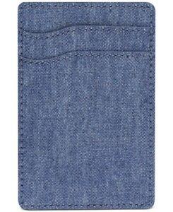 Bespoke Men's Chambray Adhesive Card Case