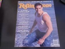 Tom Cruise, Depeche Mode, Billy Idol - Rolling Stone Magazine 1990