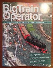 BIG TRAIN OPERATOR MAGAZINE  NO. 164  SUMMER 2017