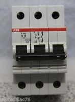 Sicherung ABB S263 -B10 A 3-polig Leitungsschutzschalter