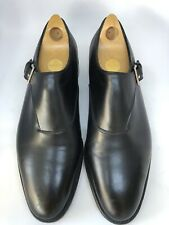 John Lobb Jermyn ll Dress Shoes In Black 7000 Size 8E US Size 9