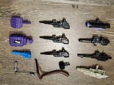 80s TOY PARTS/ACCESSORIES LOT: G1 TRANSFORMERS, THUNDERCATS, PREDACONS, TARGET++