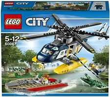 Retired LEGO CITY Set 60067 Police Helicopter Pursuit New & Factory Sealed