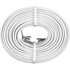 50 ft. RJ11 Modular Telephone Phone Cord Cable Line Wire - White