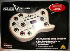 Behringer BASS V-Amp modélisation Multi Effet Clavier Acoustic Guitare électrique En parfait état, dans sa boîte