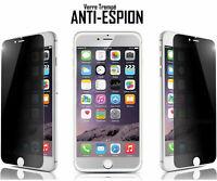 FILM VITRE DE PROTECTION VERRE TREMPÉ ANTI ESPION POUR iPhone X 8 7 7+ 6 6S 6+ 5