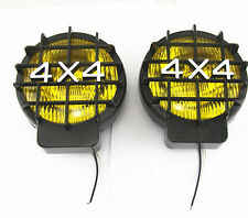 4x4 Roof Bumper Halogen Yellow Lens Spot Light Off Road Fog Lamp For SUV Jeep