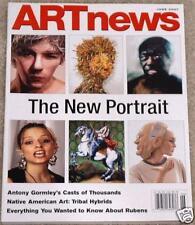 ARTnews 2007 Portrait Antony Gormley Peter Paul Rubens
