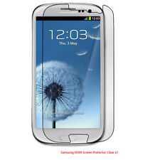 Crystal Clear Screen Protector Shield for the Samsung Galaxy S3 III i9300
