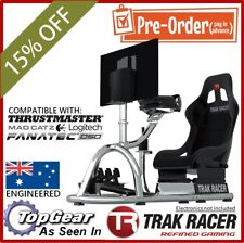 |Simulator Gaming Chair Racing PS3 PS4 Xbox Seat Driving F1 Cockpit Logitech Sim