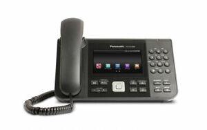 """Panasonic KX-UTG300 6 Line SIP VoIP PoE Phone 2 Gigabit 5"""" Color Touch HD Voice"""