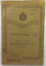 J 5955 LIBRETTO CASSE DI RISPARMIO POSTALI N. 02951