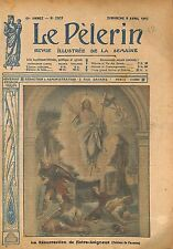 Resurrection Jesus Christ d'Alessandro Franchi painter WWI 1917 ILLUSTRATION