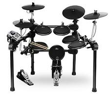 Geniales E-Drumset mit Lernmodus, Kopfhörer-Anschluss, 458 Schlagzeug-Sounds NEU