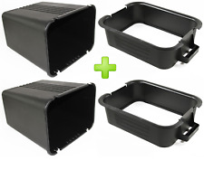 TWO New! Genuine OEM Husqvarna Poulan Tractor Bagger Container & Top 532129586