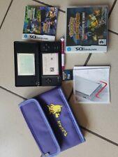 Nintendo DS DSI noire + Jeu Pokemon + Pochette sacoche