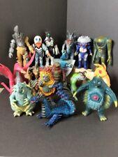 """WHOLESALE GREAT LOT 16 6-7"""" Figure KAIJU Ultraman 1983-1998 Alien-GUTS F/S JAPAN"""