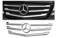 NEW Mercedes Sprinter Front Grille Trim Strip Stainless Chrome Facelift 2014 ON