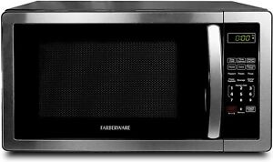 1.1 Cu. Ft. Stainless Steel Countertop Microwave Oven 6 Cooking Programs LED