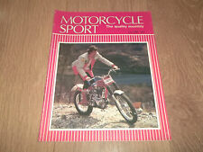 MOTORCYCLE SPORT MAGAZINE JULY 1985 ~ SPANISH GRAND PRIX / KAWASAKI'S KLR250