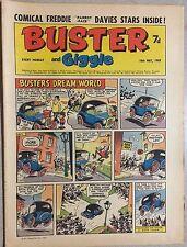 BUSTER and GIGGLE weekly British comic book May 10, 1969