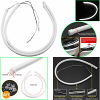 "17"" Flexible Soft Tube LED Strip DRL Daytime Running Light Headlight White 2PCS"
