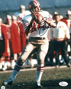 John Brodie San Francisco 49ers Signed NFL 8x10 Photo JSA Authenticated