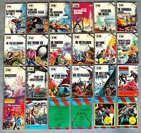24 Science Fiction Konvolut  diverse Romanhefte Heftromane diverse Verlage #-740