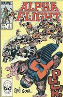 Alpha Flight Comic 5 Bronze Age First Print 1983 John Byrne Orzechowski Marvel