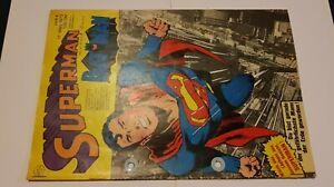 Supermann Nr.6 von 1973,Zst.3 Gelocht,Ehapa,Comic,Superhelden,Sammlung,Vintage