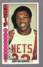 1976-77 Topps Set Break #113 John Williamson EX Nets