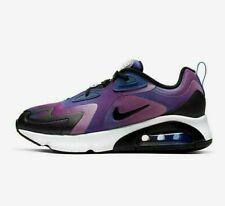 Nike Air Max 200 se CK2596-400 vivos Violeta Azul Blanco para Mujer de estilo de vida Zapatos