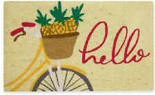 """Mohawk Home 18"""" X 30"""" Pineapple Bike Coir Multicolor Door Mat"""