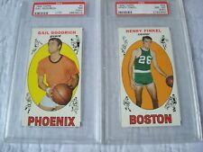 1969 Topps Basketball PSA Lot Henry Finkel Boston Celtics Gail Goodrich Phoenix