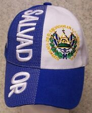 Embroidered Baseball Cap International El Salvador NEW 1 hat size fits all